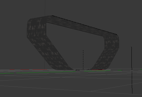 Textured tread model