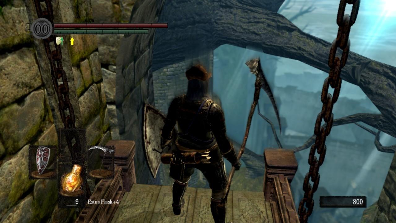 Dark souls 1, Elevator to Firelink Shrine