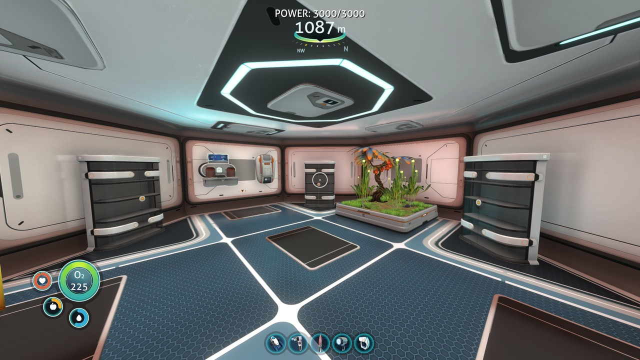 A base in Subnautica