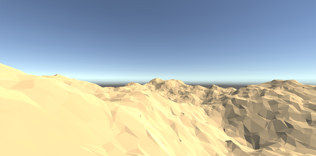 Delaunay Triangulation for Terrain Generation in Unity – Stray Pixels